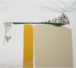 Benicia Gantner, Double Mountain and Olive Stand, 2007