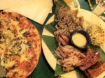 Hawaiian Pizza & Kalua Pork @ Kona Brewery
