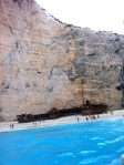 Anthony Bourdain kind of ruined it for me, but Navagio (Shipwreck Beach) is still amazingly gorgeous.