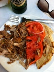 Not surprisingly, gyros in Greece are DELISH.