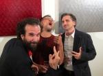 Boy band!  Oliver Hess, SASAKI, Michael Sylvester