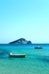 Little Keri at the end of Zakythos